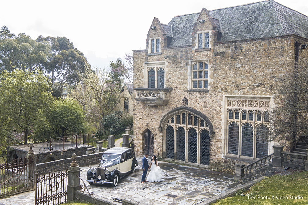 1 Montsalvat Wedding - 10 Melbourne Heritage Wedding Venues to Consider for Weddings