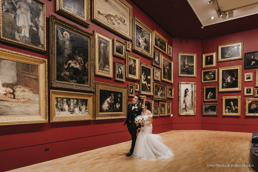 National Gallery of Victoria (NGV)Wedding Photography 1 - The best wedding photo locations in Melbourne [2020]