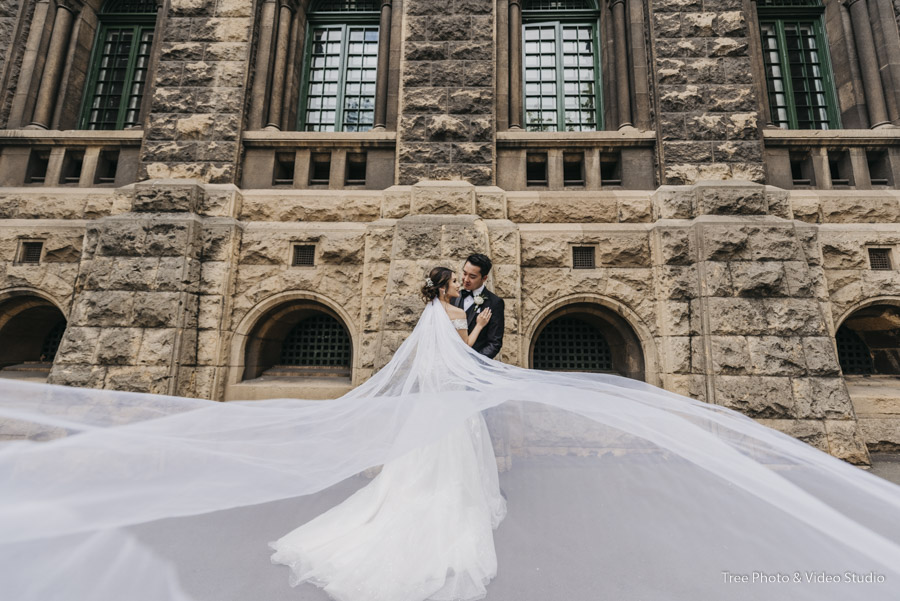 RMIT University Wedding Photography 1 - The best wedding photo locations in Melbourne [2020]
