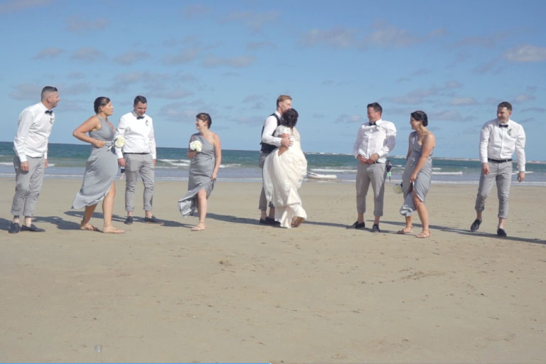 Torquay Wedding Video Kristy and Jayden - Kristy and Jayden @ Torquay Wedding Video